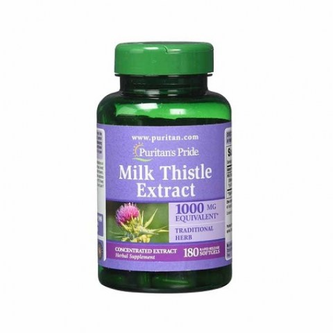 vien-uong-bo-gan-Milk-Thistle-Extract-1000mg